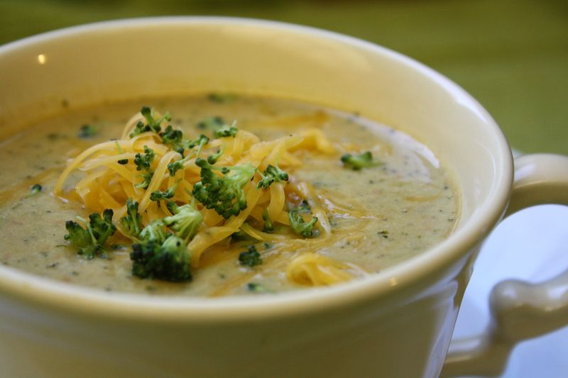 One more Moore: Broccoli Cheese Soup