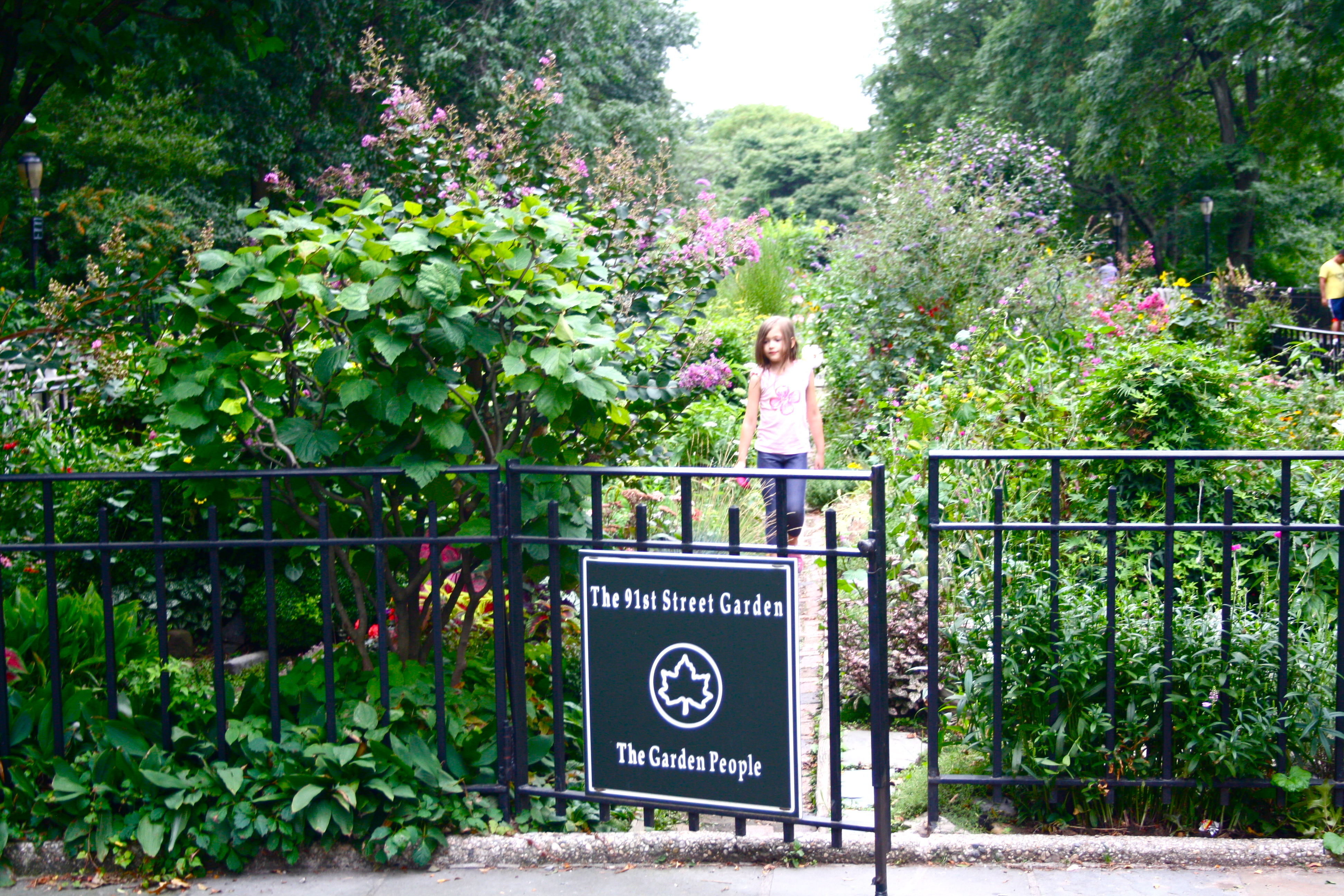 The 91st Street Garden In Riverside Park Which Is So Gorgeous And The  Perfect Place To End A Movie. Definitely Hit Some Of These Places If You  Are Fan Of ...